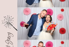 Bekah & Gary (Photos with the graphic design)