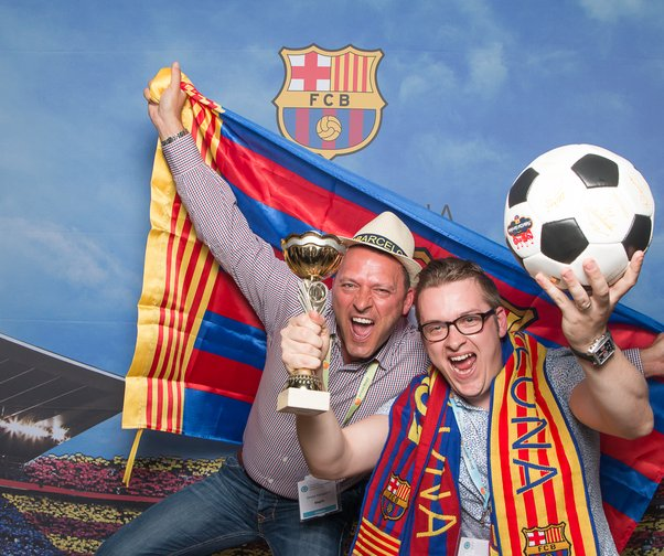 CAMP NOU Event for SCL 2016
