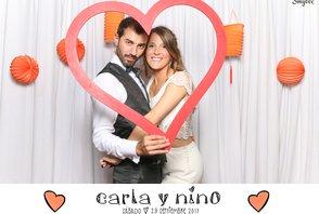 Carla y Nino (Fotos con la gráfica)