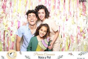 Comunión Naia y Pol