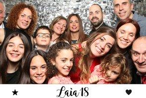 Laia 18 (fotos con la gráfica)